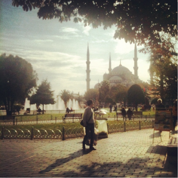 Blue Mosque from afar