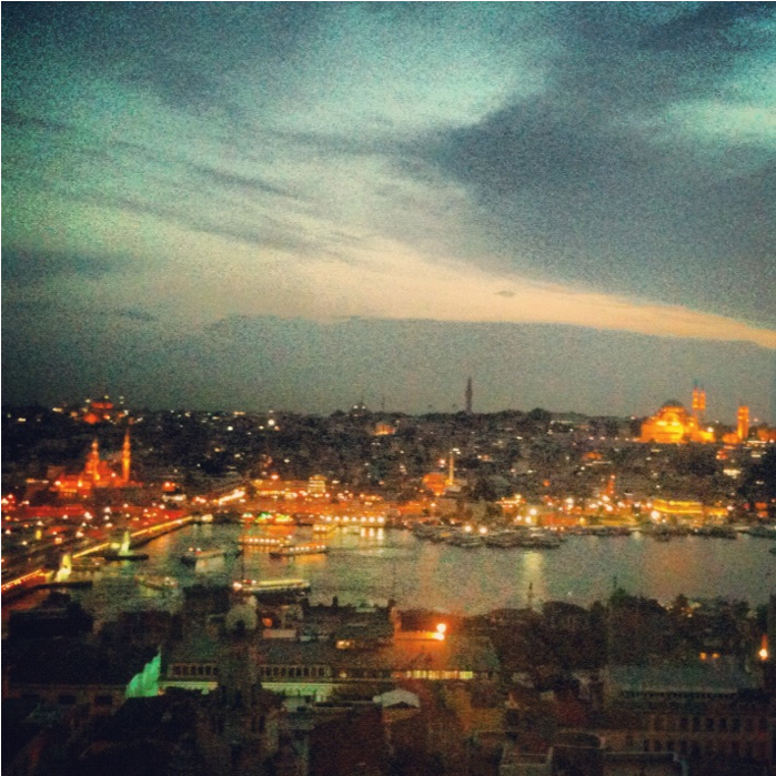 Galata Tower - View