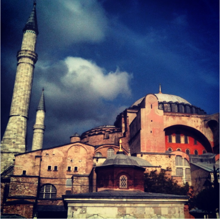 Hogia Sophia - Outside