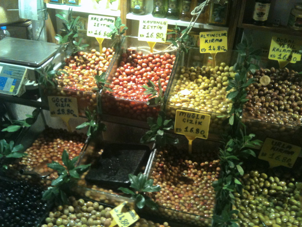 Istanbul Food Tour - Olives