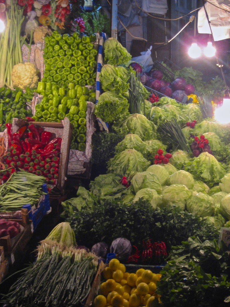 Istanbul Food Tour - Vegetables
