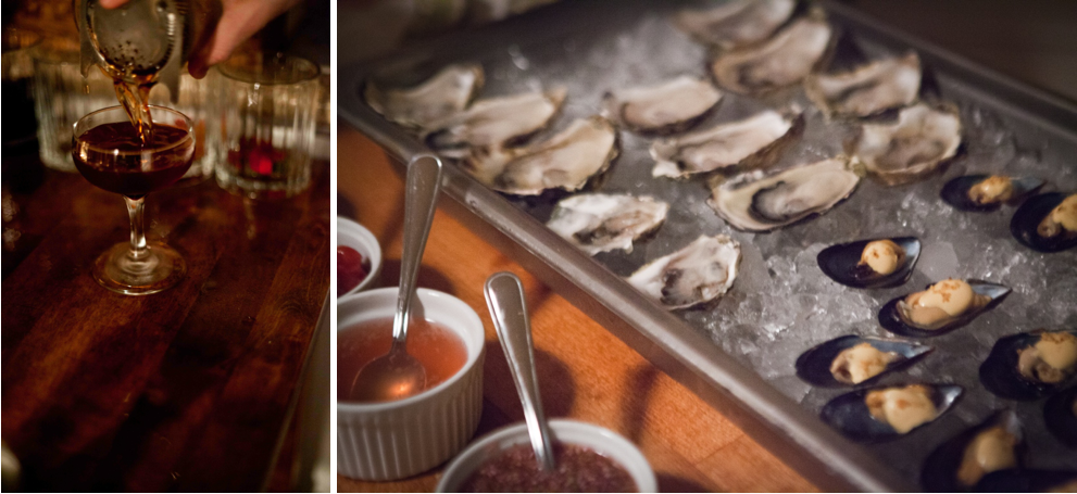 The Whaling Club Oysters