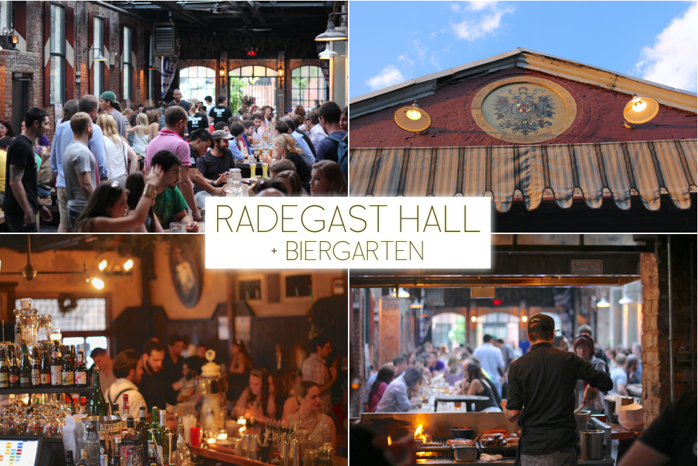 Things to do in Williamsburg Brooklyn | RADEGAST HALL + BEIRGARTEN | Trevor Morrow Travel