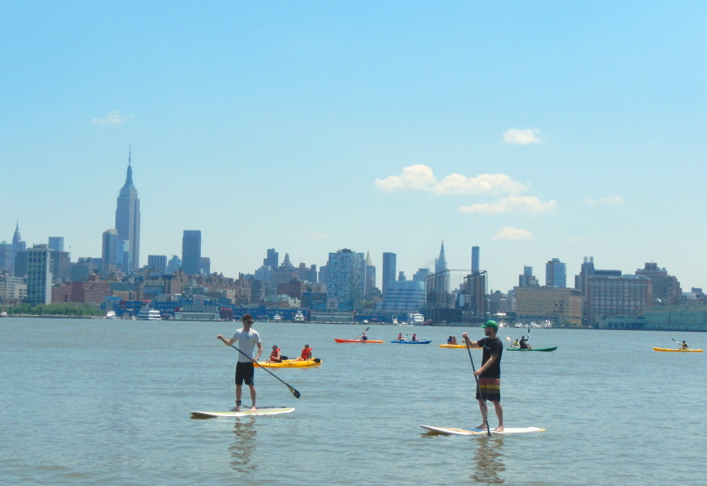 Stand up paddle boarding NYC