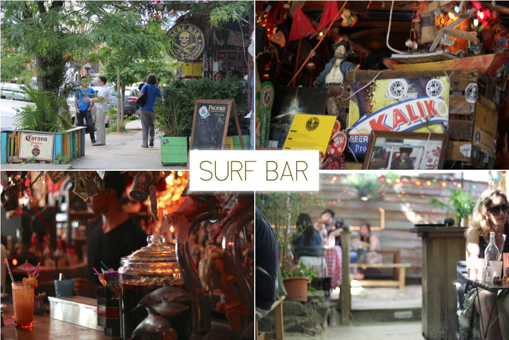 Things to do in Williamsburg Brooklyn | Surf Bar | Trevor Morrow Travel