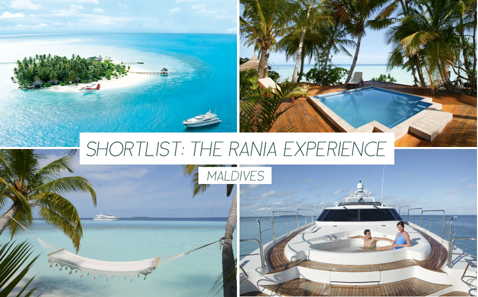 The Rania Experience - Maldives - Trevor Morrow Travel