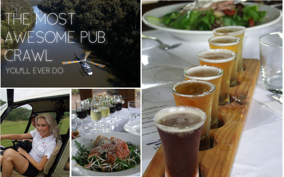 Sydney Helicopters Helicopter Pub Crawl