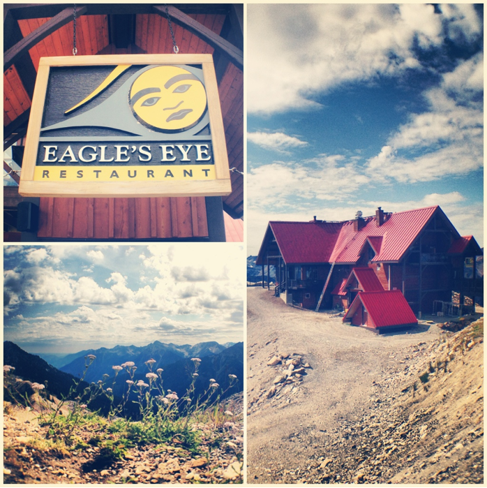 Eagel's Eye Restaurant Kicking Horse Mountain Resort, Golden. Golden, British Columbia, Photos
