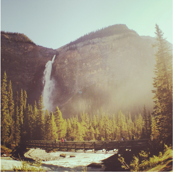 Takakaw Falls Yoho National Park Golden, British Columbia, Photos
