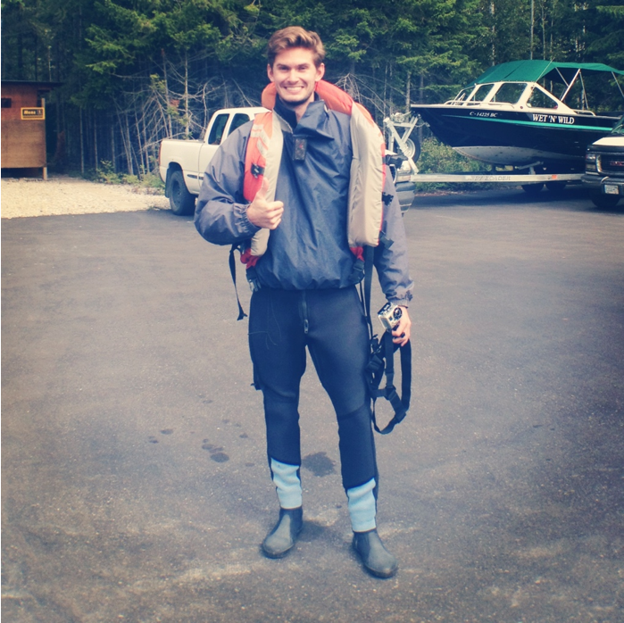 Rafting Gear with Wet n Wild Rafting, Golden, British Columbia Photos