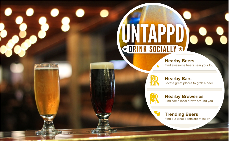 Untappd beer app | Trevor Morrow Travel