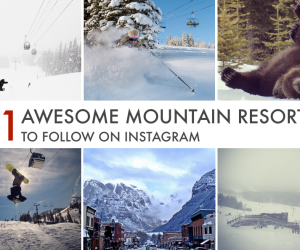 11 Awsome Mountain Resorts To Follow On Instagram