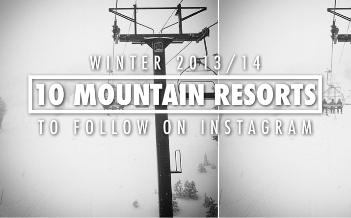 Mountain Resorts on Instagram