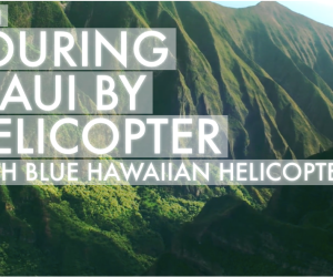 Blue Hawaiian Helicopters Tour of Maui