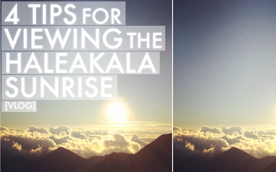4 TIPS FOR VIEWING THE HALEAKALA SUNRISE
