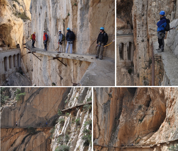 Scariest Cliff Walks | World's Craziest Cliff Walks | El Camino del Rey