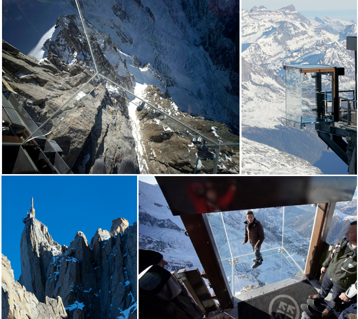 Scariest Cliff Walks | World's Craziest Cliff Walks | Aiguille du Midi Sky Walk | Step Into The Void