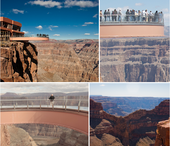 Scariest Cliff Walks | World's Craziest Cliff Walks | Grand Canyon Skywalk