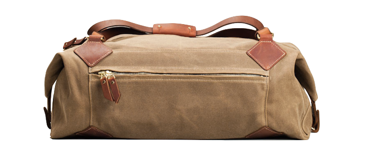 This duffle bag is durable and dependable — perfectly suited for any gentleman looking to channel his more adventurous side. Handily designed to fit within maximum airline carry-on size restrictions, this is the only bag needed for all of your journeys.
