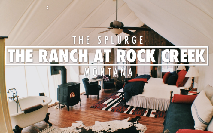 The Ranch At Rock Creek | Montana Glamping