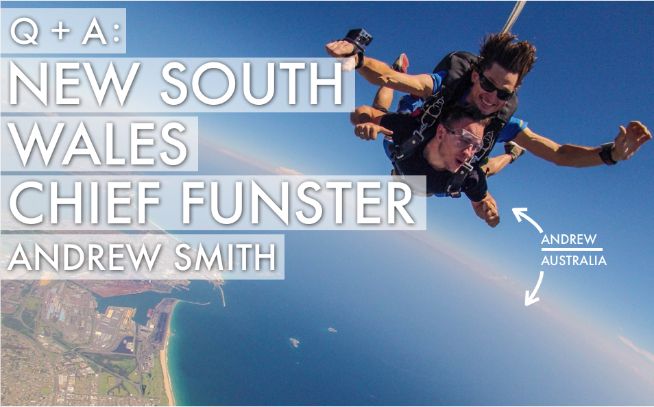 New South Wales Chief Funster Andrew Smith | Best Jobs In The World
