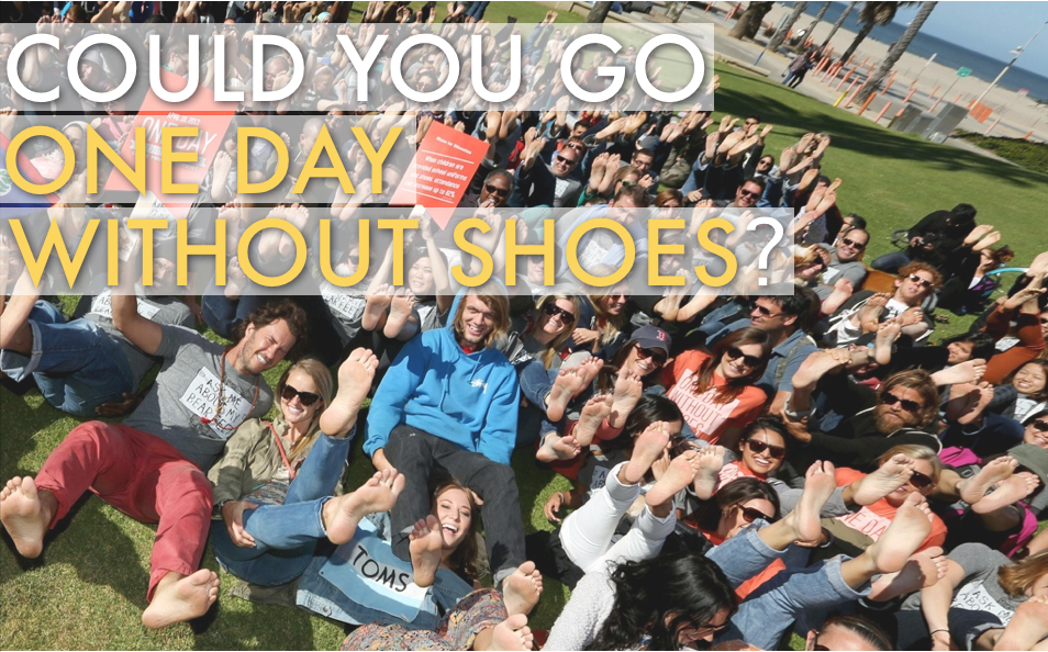 One Day Without Shoes 2014 | Toms Shoes