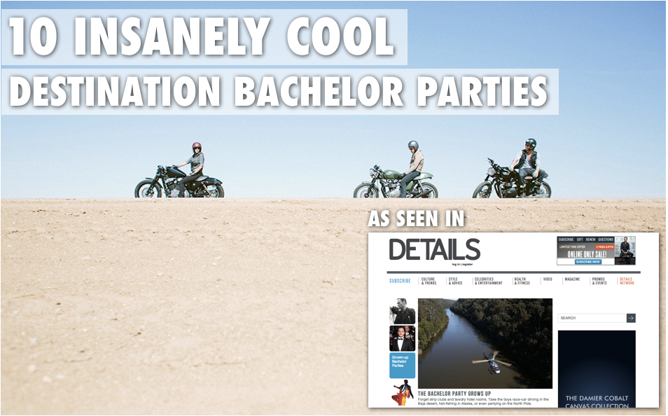 Best Bachelor Party Locations | 10 Insanely Cool Destination Bachelor Parties by Trevor Morrow