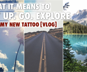 Get Up Go Explore by Trevor Morrow Travel