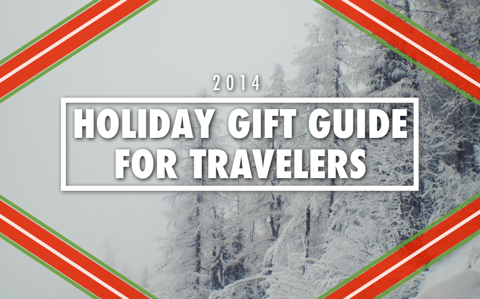 2014 holiday gift guide for travelers trevor morrow travel for Christmas gifts for travelers