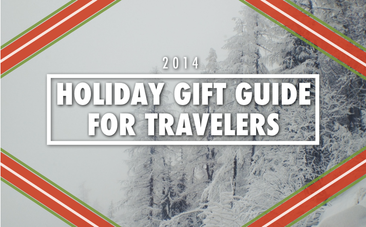Holiday Gift Guide For Travelers | Travel Gifts | Gifts For Travelers