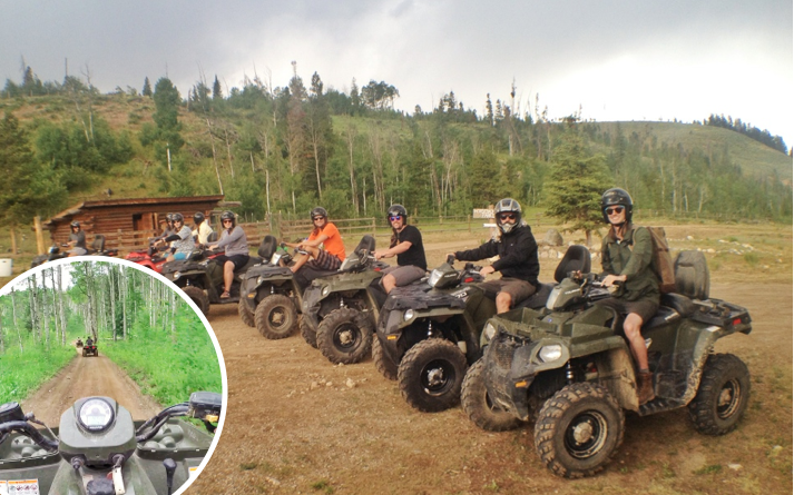 breckenridge bachelor party things to do in Breckinridge ATV rental ATVing