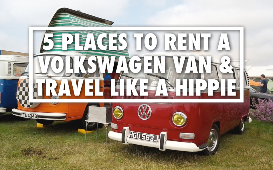 Top 5 Volkswagen Camper Van Rentals Around The World