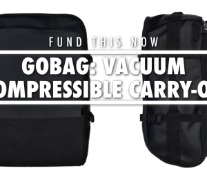 GoBag Vacuum Compressible Luggage Kickstarter