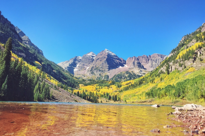 Maroon Bells by Trevor Morrow