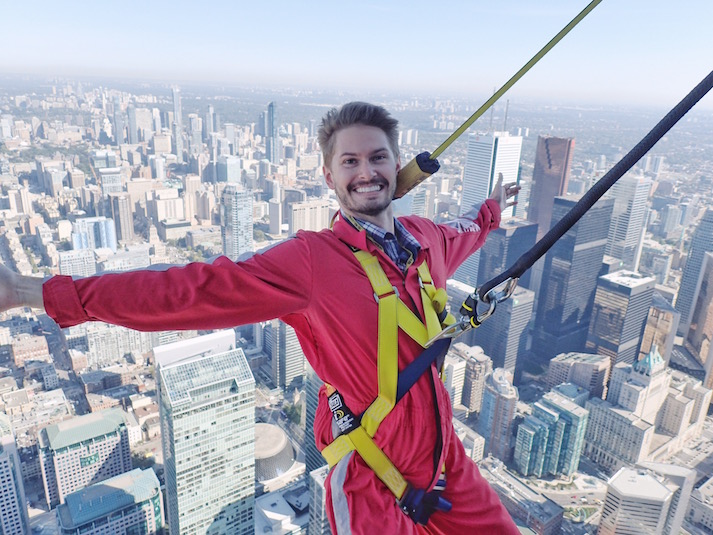CN Tower Edge Walk Review