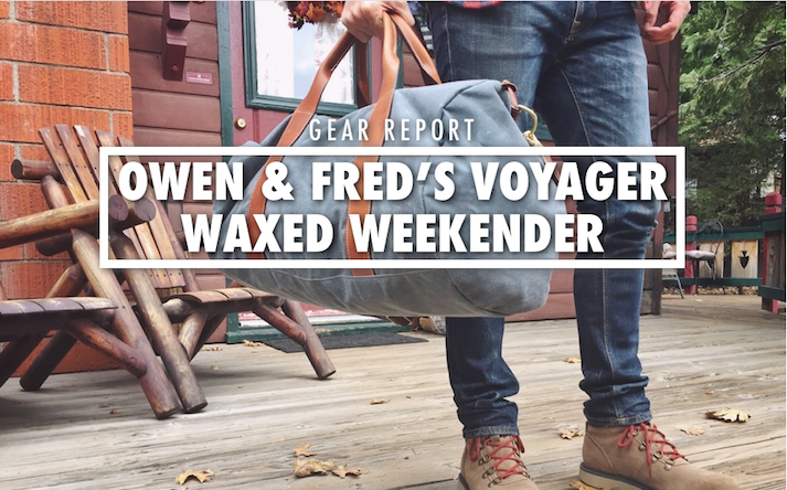 Owen and Fred Duffle Bag