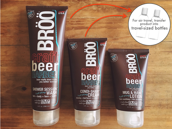 Broo Craft Beer Shampoo Lotion